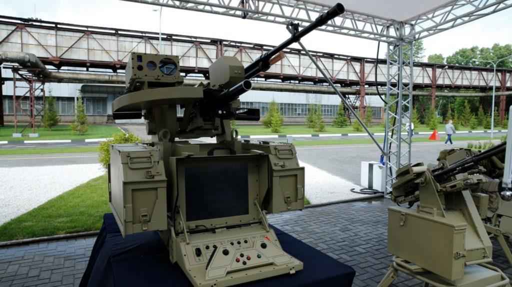 Robots-autonome-russe-armé