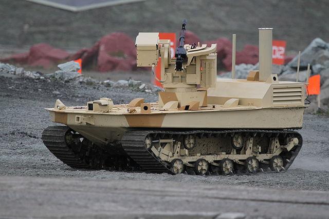 Robot-autonome-russe-armé